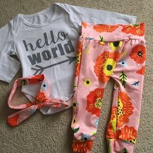 Other - 🌸🌺 Baby Girl Matching Outfit